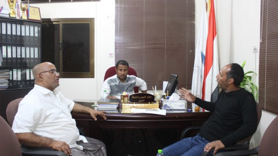 زيارة مدير عام مركز التراث اليمني
